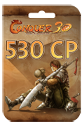 TQ Conquer Online Points Card - 530 Conquer Points