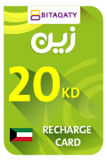 Zain Mobile Recharge Card - KWD 20