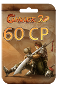 TQ Conquer Online Points Card - 60 Conquer Points