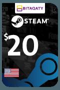 Steam Wallet Card - USD 20