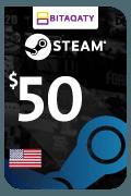 Steam Wallet Card - USD 50