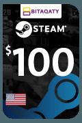 Steam Wallet Card - USD 100