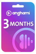 Anghami Plus Subscription Gift Card - 3 Months