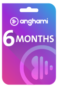 Anghami Plus Subscription Gift Card - 6 Months