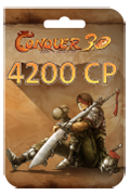 TQ Conquer Online Points Card - 4,200 Conquer Points