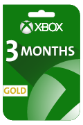 Xbox Live (Gold) Gift Card - 3 Months