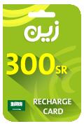 Zain Mobile Recharge Card - SAR 300