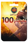 Adrenaline Points Card - 100 Points