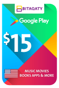 Google Play Gift Card - USD 15
