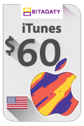 iTunes Gift Card - USD 60