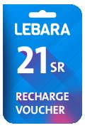 بطاقة شحن ليبارا للإتصالات - 21 ريال سعودي