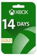 Xbox Live (Gold) Gift Card - 14 Days