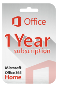 Microsoft Office 365 (Home) Subscription - 1 Year