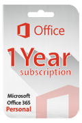 Microsoft Office 365 (Personal) Subscription - 1 Year