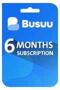 Busuu Subscription Card - 6 Months