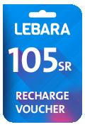 بطاقة شحن ليبارا للإتصالات - 105 ريال سعودي