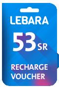 Lebara Recharge Voucher - SAR 53