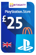 PlayStation Store Gift Card - GBP 25