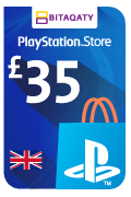 PlayStation Store Gift Card - GBP 35
