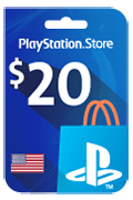PlayStation Store Gift Card - USD 20