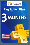 PlayStation Plus Membership - 3 Months