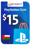 PlayStation Store Gift Card - USD 15