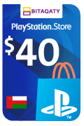 PlayStation Store Gift Card - USD 40