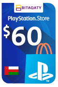 PlayStation Store Gift Card - USD 60