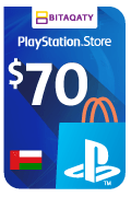 PlayStation Store Gift Card - USD 70