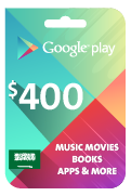 Google Play Gift Card - SAR 400