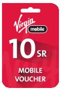Virgin Mobile Voucher - SAR 10