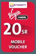 بطاقة شحن فيرجن موبايل - 20 ريال سعودي