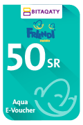 FRiENDi Aqua Mobile Recharge Voucher - SAR 50