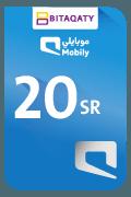 Mobily Recharge Card - SAR 20