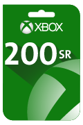 بطاقة هدية إكس بوكس لايف - 200 ريال سعودي