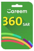 Careem Top-up Voucher - SAR 360