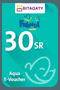 بطاقة شحن فرندي أكوا - 30 ريال سعودي