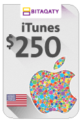 iTunes Gift Card - USD 250