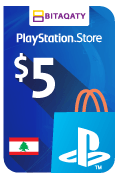 PlayStation Store Gift Card - USD 5