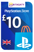 PlayStation Store Gift Card - GBP 10