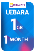 Lebara Data Recharge Voucher - 1 GB for 1 Month