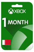 Xbox Live (Game Pass) Gift Card - 1 Month