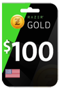Razer Gold Gift Card - USD 100