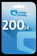 Mobily Recharge Card - SAR 200