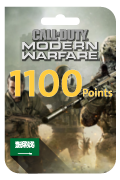 Call of Duty Modern Warfare Points - 1,100 Points