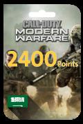 Call of Duty Modern Warfare Points - 2,400 Points