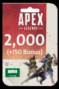 Apex Legends Coins Card - 2,000 Coins + 150 Bonus