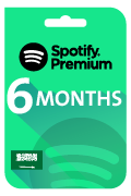 Spotify Premium Membership Gift Card - 6 Months