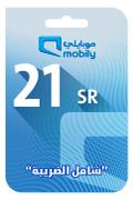 Mobily Recharge Card - SAR 21