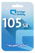 Mobily Recharge Card - SAR 105